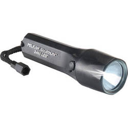 Pelican 2460 StealthLite Rechargeable LED Flashlight with Charger Base (Black)