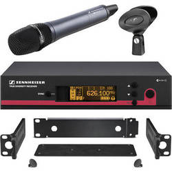 Sennheiser ew 135 G3 Wireless Handheld Microphone System with GA 3 Rack Kit - A (516-558 MHz)