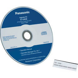 Panasonic ET-UK20 Geometry Manager Pro Software Upgrade Kit
