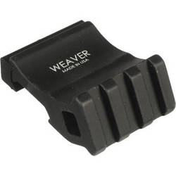 Weaver Offset Rail Adapter (Matte Black)