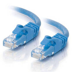 C2G 150' (45.7 m) Cat6 550 MHz Snagless Patch Ethernet Cable (Blue)
