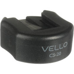 "Vello Cold Shoe Mount with 1/4"" Thread"
