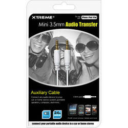 Xtreme Cables 3.5mm Mini Audio Transfer Cable (12')