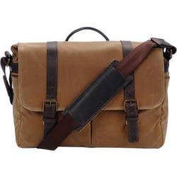 ONA Brixton Camera/Laptop Messenger Bag (Canvas, Field Tan)