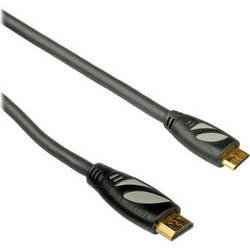 Pearstone High-Speed Mini HDMI (Type C) to HDMI (Type A) Cable with Ethernet - 1.5' (0.5 m)