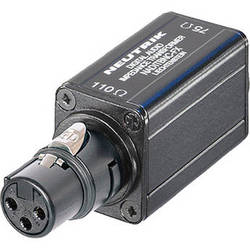 Neutrik NADITBNC-FX - AES/EBU Digital Impedance Transformer Adapter (110 Ohms to 75 Ohms)
