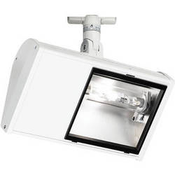 Strand Lighting 35 W Wing Metal Halide Wall Wash Flood with Flying Lead (White)