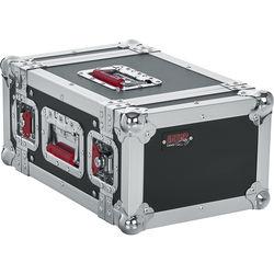 Gator Cases 4U G-Tour-Style ATA Wood Flight Half Rack Case (Black)