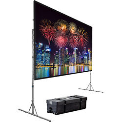 Da-Lite 39310 Fast-Fold Deluxe Portable Projection Screen (8 x 14')