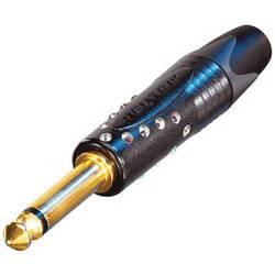 "Neutrik NP2X-B-CRYSTAL Professional 1/4"" Phone Plug"