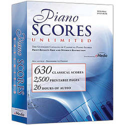 eMedia Music Piano Scores Unlimited Software (Windows and Mac)