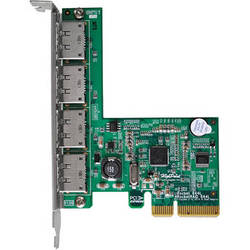 HighPoint RocketRAID 644L 4-Port eSATA 6 Gbps PCIe 2.0 x4 RAID Host Adapter