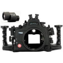 Aquatica AD800 Underwater Housing for Nikon D800 or D800E with Aqua VF (Dual Nikonos Strobe Connectors)