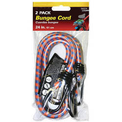 "General Brand Bungee Cord (24"" Length, Pack of 2)"