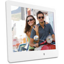 "ViewSonic VFD820 8"" Digital Photo Frame (White)"