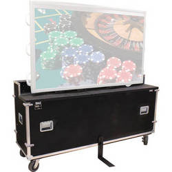 "JELCO EL-80 EZ-LIFT Shipping and Display Case for 80-90"" Flat-Screen Monitor"