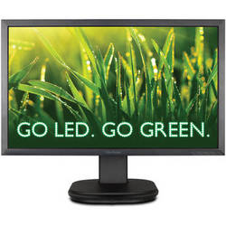 "ViewSonic VG2439m-LED 24"" Widescreen LED Backlit TFT Matrix LCD Monitor"
