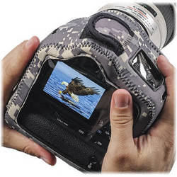 LensCoat BodyGuard Compact CB (Clear Back) with Grip (Digital Camo)