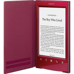 Sony Standard Cover for Reader (PRS-T2) - Red
