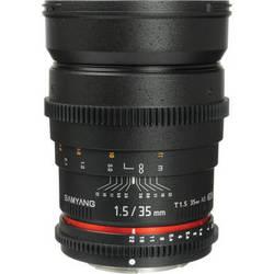 Samyang 35mm T1.5 Cine Lens for Sony A