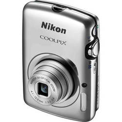 Nikon COOLPIX S01 Digital Camera (Silver)