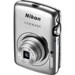 Nikon COOLPIX S01 Digital Camera (Silver)