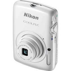 Nikon COOLPIX S01 Digital Camera (White)