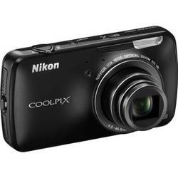 Nikon COOLPIX S800c Digital Camera (Black)