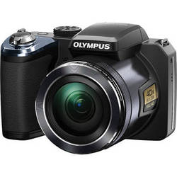 Olympus SP-820UZ iHS Digital Camera (Black)