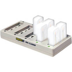 Powerex MH-C1090F Pro 10-Bank Rapid 9V NiMH Battery Charger