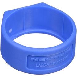 Neutrik XCR Colored Ring (Blue Finish)