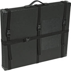 "Archival Methods 13 x 19 x 3"" Trans-Port Shipping Case (Black)"
