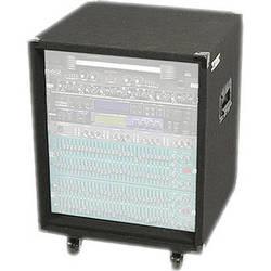 Odyssey Innovative Designs CRE12W Carpeted Econo Rack Case (Black)