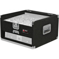 Odyssey Innovative Designs CGX902 Carpeted Console Rack Case {Black}
