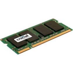 Crucial 2GB 200-Pin SODIMM DDR2 PC2-5300 Memory Module for Macintosh