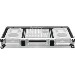 "Odyssey Innovative Designs FZ12CDIW Flight Zone DJ CD 12"" Mixer Coffin with Wheels"