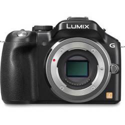 Panasonic Lumix DMC-G5 Mirrorless Micro Four Thirds Digital Camera (Black)