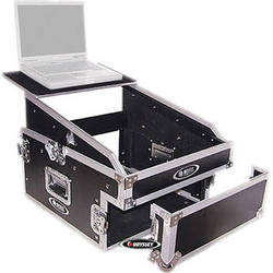 Odyssey Innovative Designs FZGS1304 Flight Zone Glide Style Slanted 13+4 Space Combo Rack Case