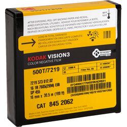 Kodak VISION3 500T Color Negative Film #7219 (16mm, 100' Roll, Single Perf)