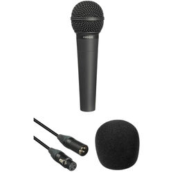 Behringer Behringer XM8500 Microphone, 15' XLR Cable and Foam Windscreen Kit