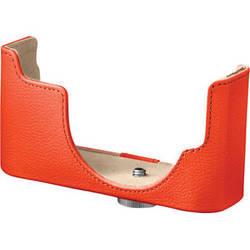 Nikon CB-N2000 Leather Body Case ONLY (Orange)
