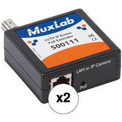 MuxLab 500111 CCTV IP Econo PoE Extender (2-Pack)