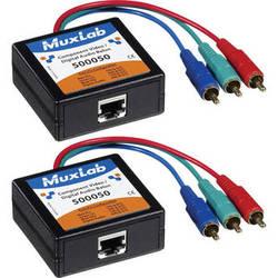 MuxLab Component Video & Digital Audio 2-Pack Balun Kit
