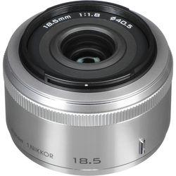 Nikon 1 NIKKOR 18.5mm f/1.8 Lens (Silver)
