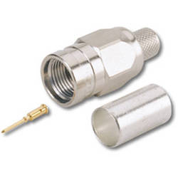 Canare FP-C53A F-Type Connector (Straight Plug, Crimp Type)
