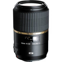 Tamron 90mm f/2.8 SP Di MACRO 1:1 VC USD Lens for Canon