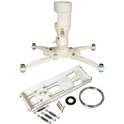 Premier Mounts MAG-FCTAW Universal Projector Mount and False Ceiling Adapter (White)