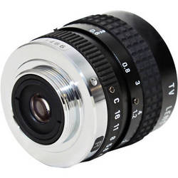 AstroScope C-Mount 25mm f1.8 Objective Lens with Iris for 9350BRAC Module