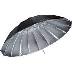 """Impact 7' Parabolic Umbrella (84"""" - Silver)"""