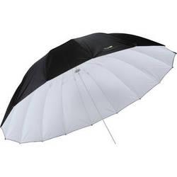 Impact 7' Parabolic Umbrella (White/Black)
